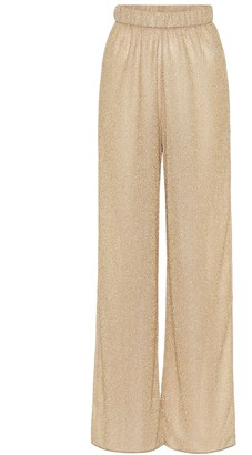 Oseree Lumiere high-rise wide-leg pants