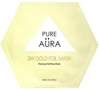 Pure Aura 24K Gold Foil Sheet Mask