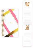 Lake + Loft Spiral Notebook & Notepad Set - Pink