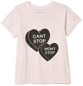 Spiritual Gangster Kids Can't Stop Tee (Toddler/Little Kids/Big Kids) (Ballet Pink) Girl's T Shirt