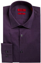 HUGO Slim Fit Microdot Dress Shirt