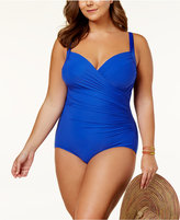 Miraclesuit Plus Size Sanibel One-Piece Swimsuit