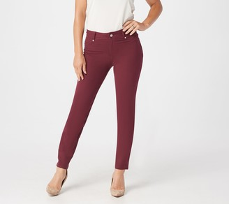 Fly London Women with Control Petite Knit Front Jeggings