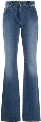 MICHAEL Michael Kors High-Rise Bootcut Jeans