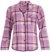 Cyberjammies Haze Lilac Check Top 3073
