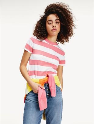 Tommy Hilfiger Cropped Stripe T-Shirt
