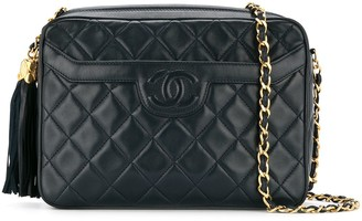 Chanel Pre Owned 1991-1994 CC tassel shoulder bag