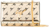 Giuseppe Zanotti Design The Signature clutch bag - women - Polyurethane/Patent Leather - One Size