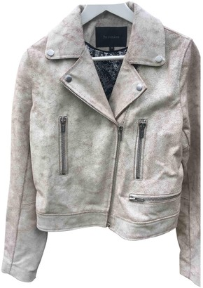 Berenice Gold Leather Leather Jacket for Women