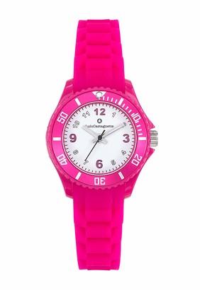Lulu Castagnette Girls Analogue Quartz Watch with Silicone Strap 38871