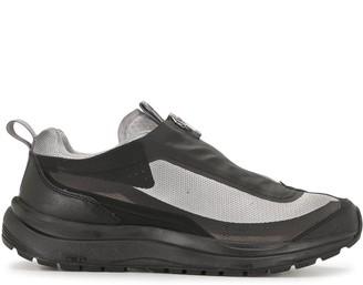 11 By Boris Bidjan Saberi Distressed Zip-Up Sneakers