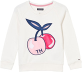 Tommy Hilfiger Off-White Cherry Print Sweater