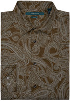 Perry Ellis Slim Fit Exclusive Large Paisley Shirt