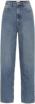 Etoile Isabel Marant Corsy high-rise carrot jeans