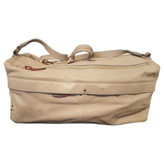 Jerome Dreyfuss Richard Beige Leather Handbags