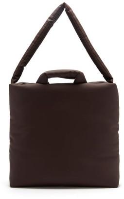 Kassl Editions Rubber Medium Padded Tote Bag - Dark Brown