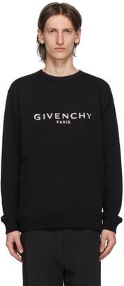 Givenchy Black Embossed Logo Sweatshirt