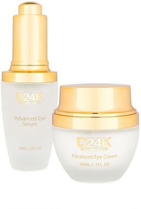 D24K by D'OR 2Pc Eye Care Treatment Bundle Set