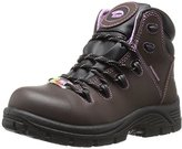 Avenger Safety Footwear Women's 7123 Leather WP PR Comp Toe EH Work Boot Industrial and Construction Shoe