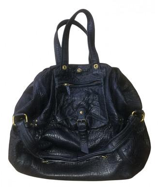 Jerome Dreyfuss Billy Black Exotic leathers Handbags