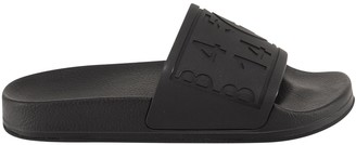 MM6 MAISON MARGIELA Logo Embossed Slide Sandals