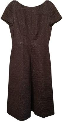 Prada Brown Silk Dresses