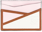 Loewe Puzzle Plain Cardholder in Icy Pink & Soft White | FWRD