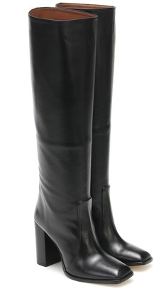Paris Texas Exclusive to Mytheresa Leather knee-high boots