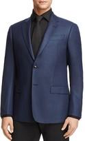 Armani Collezioni Textured Check Classic Fit Sport Coat