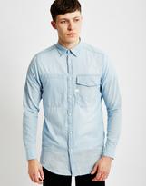 G Star G-Star Landoh Long Shirt Long Sleeve Blue