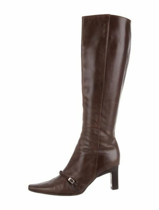 Barbara Bui Leather Boots Brown