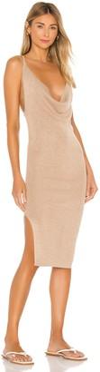 superdown Sabrina Knit Midi Dress