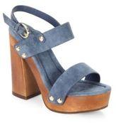 Joie Dea Kid Suede Platform Sandals