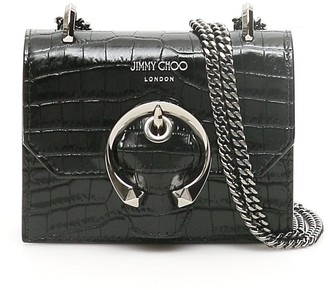 Jimmy Choo Mini Paris Logo Crossbody Bag