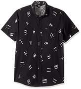Volcom Men's Micro Warp Short Sleeve Shirt