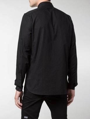 Saint Laurent Striped Officer Shirt