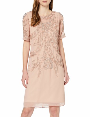 Frock and Frill Women's Fiona Short Sleeve Embellished Mini Dress Party