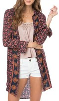 O'Neill Women's 'Bloom' Floral Print Woven Tunic