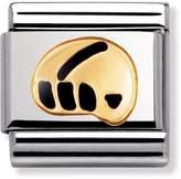 Nomination Composable Black Geo Classic Charm 030203/30