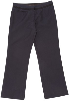 Louis Vuitton Navy Wool Trousers