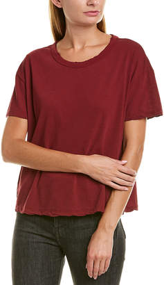 James Perse Boxy Linen-Blend T-Shirt