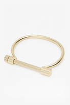French Connection Geo Screw Bar Bracelet