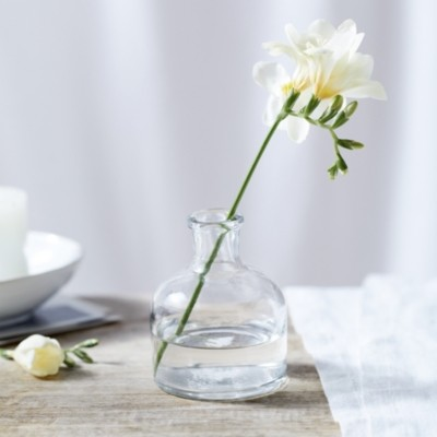 Thumbnail for your product : The White Company Short Bud Vase, Clear, One Size