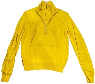 Prada Yellow Wool Top for Women