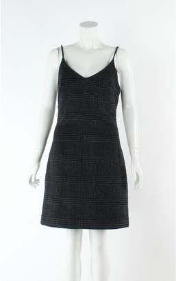 Ganni Grey Wool Dresses