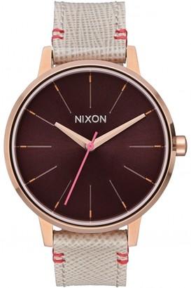 Nixon Ladies The Kensington Leather Watch A108-1890