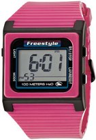 Freestyle Unisex FS84853 Speed Dial Digital Pink and Black Polyurethane Watch