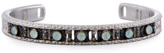 Armenta New World Opal Triplet Cuff Bracelet with Diamonds