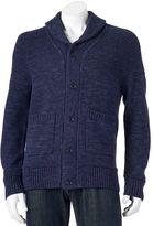 Apt. 9 Men's Modern-Fit Marled Shawl-Collar Cardigan