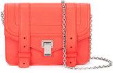 Proenza Schouler detachable strap clutch